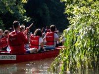 Urumea in canoa