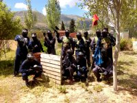 Captura la bandera en paintball