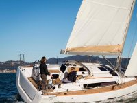 Navegando entre islas en el velero