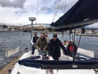Saliendo a navegar en grupo