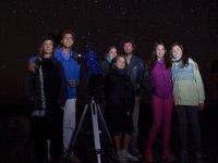 Grupo con telescopio
