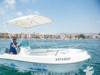 Dia de navegacion en solitario