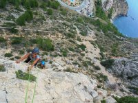 Climbing on the Mediterranean