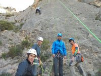 Group of climbers in Alicante