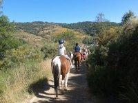 Excursión en caballo en León