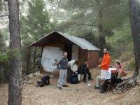 Descanso durante la excursion en Alicante