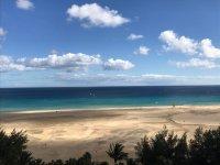 海边的Playa de富埃特文图