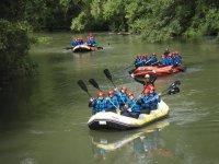Rafting escolares