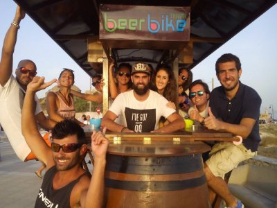 Beer Bike Tarifa Team Building