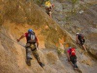 Salendo le rocce