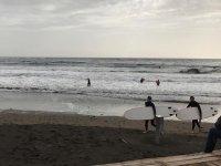 海滩埃尔梅达诺以水表