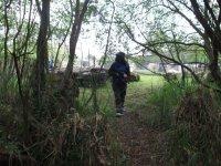 En el bosque tras los oponentes