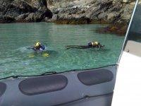 Submarinismo en las costas gallegas