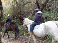 rutas a caballo infantiles