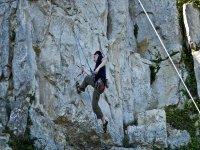 Campamento de escalada Unquera