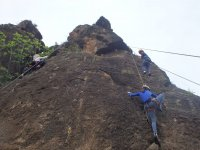 Climbing with a children's group