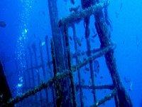 Ruinas bajo el mar