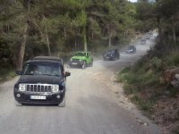 Circuit en jeep à travers la campagne