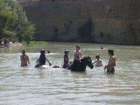 por el río con los pequeños