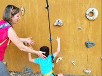 Children s climbing wall