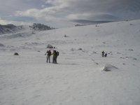 fotografiando los paisajes nevados