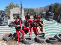 Children's paintball team