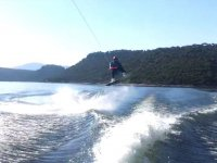 Jump with the wake board