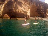 Excursión haciendo paddle surf en Gran Canaria