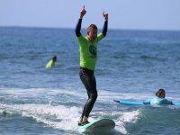 Cursos de surf sin límite de edad Gran Canaria