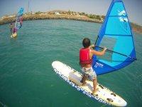 Curso windsurf para niños