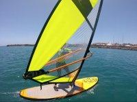 Practicar windsurf en Maspalomas