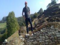 En la sierra de Navia