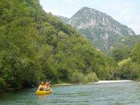 Ruta en canoa por el río Cares