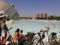 Percorsi ciclabili attraverso Valencia