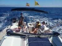 Alquiler de velero en La Palma