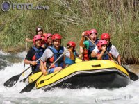 Whitewater raft boat