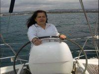 Manejando el barco