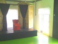 escenario para representaciones