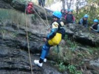 Canyoning in León