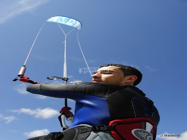 Experto en kitesurf