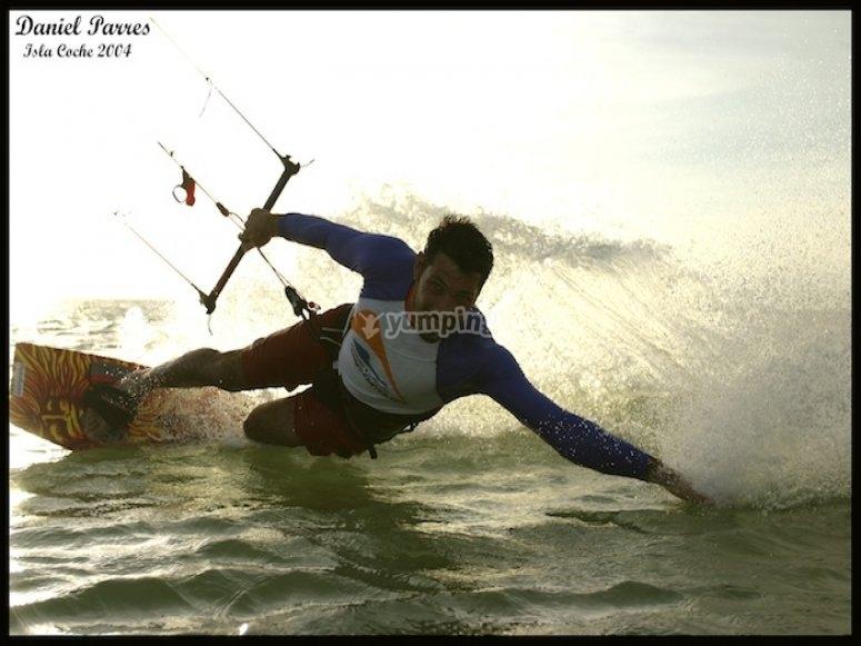 Cursos de kitesurf en Santa Pola