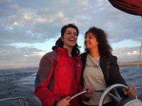 Jeunes filles à la barre dans les Asturies