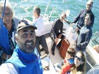 Salida familiar en barco en Asturias