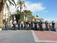 步行游览与赛格威公司合作的城市