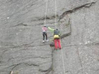 Climbing with children