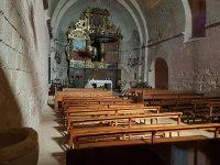 Bancos de la antigua Iglesia