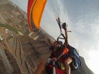 Volando sobre Playa Vagabundo