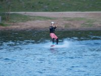 aprendiendo a navegar en wakeboard