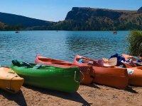 Kayak de alquiler en el embalse de Las Vencías