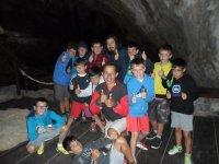 Visita a la cueva de Monte del Castillo